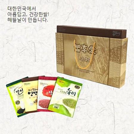[해뜰날]불후애명곡 5호/발아현미+약쌀+영양혼합20곡+녹찰현미 각 700g