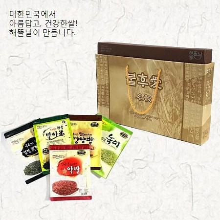 [해뜰날]불후애명곡 6호/발아현미+검정보리+붉은약쌀+녹찰현미+영양혼합20곡 각 700g