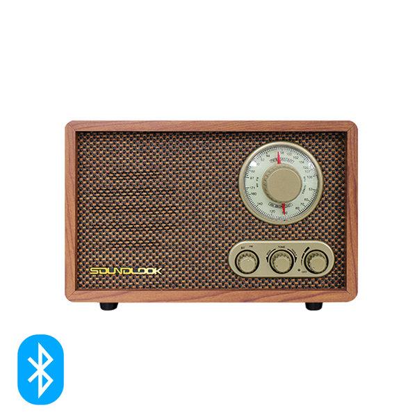 [사운드룩] 레트로 BT스피커 라디오 SL-BR100