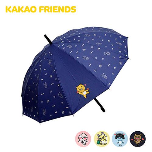 [카카오프렌즈] 57러브도트 12K 장우산 5종 택1