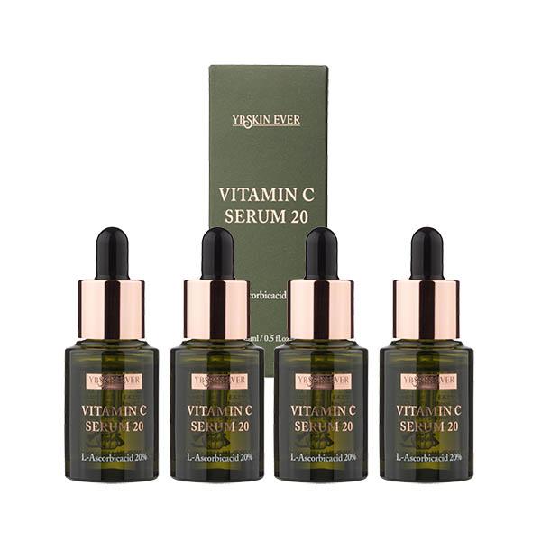 YB스킨에버 비타민C 세럼 20% 15mlx4ea (60ml)