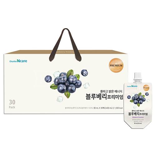 [천호식품]환하고 밝은 에너지 블루베리프리미엄 80mlx30팩