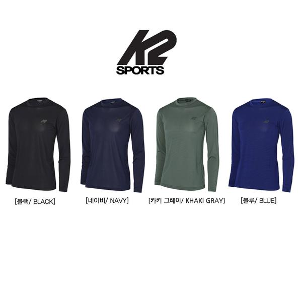 K2 Sports 프리온 프로 냉감 쿨링 라운드 티셔츠