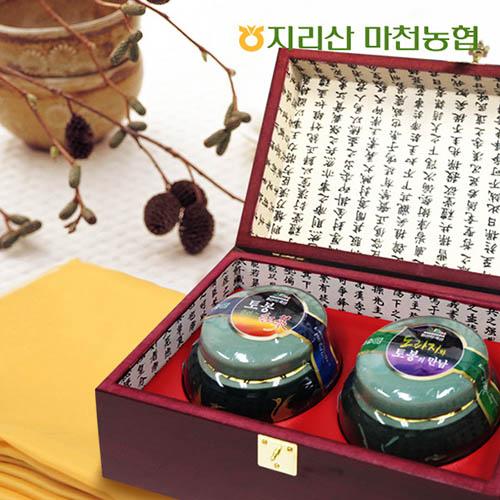 마천농협 선물세트 21호(홍삼꿀+도라지꿀)