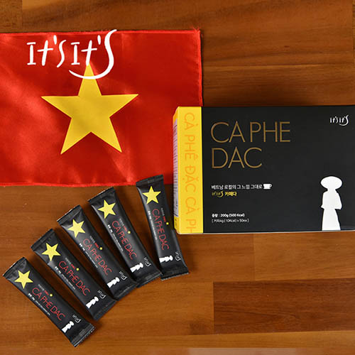 이츠이츠 카페다 커피4gx50개 (베트남 아메리카노)