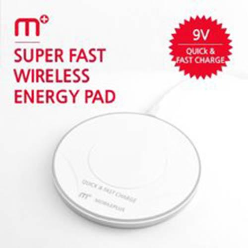 MPLUS 급속무선충전패드 스마트폰 충전기 MW-345Q