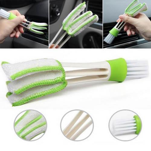 차량용 에어컨 틈새 청소브러쉬 틈새청소기 창문틀브러쉬