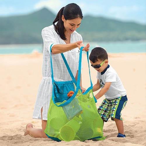해변 비치백 장난감바구니 물놀이 가방