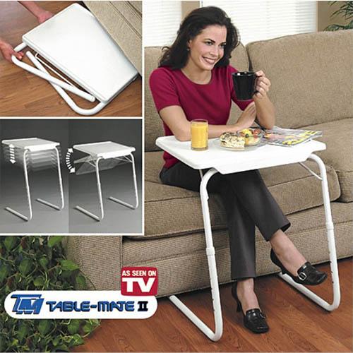 베드 트레이 침대책상 접이식 테이블