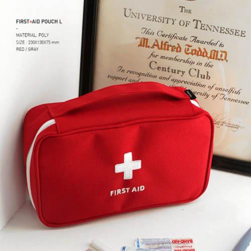 여행용 비상약파우치 구급파우치 응급파우치 구급상자 비상약보관가방
