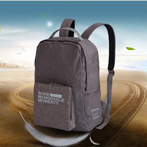 휴대용 접이식 백팩 캐리어 여행 가방