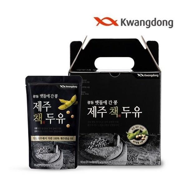 광동 맷돌에 간 콩 제주 책두유 180ml*10팩 웰빙/건강/임산부 두유