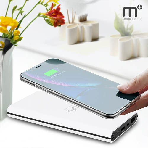 MPLUS M+ 유,무선 충전 보조배터리 (10000mAh) MQ-100