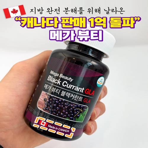 비바파머시 메가뷰티 블랙커런트GAL 60g*60캡슐