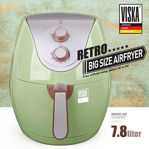 비스카(VISKA) 7.8L 대용량  에어프라이어 VK-E669AF