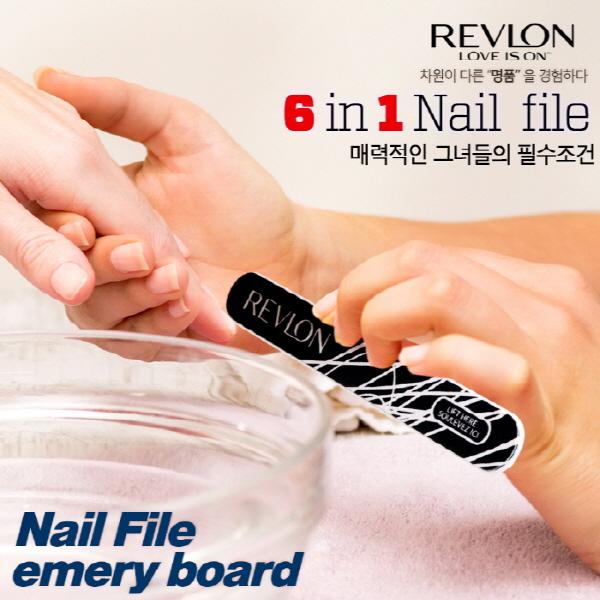 [REVLON] 명품 레브론 샌딩 네일 양면 파일스틱  1+1+1