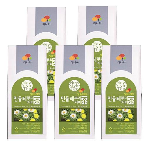 민들레뿌리 커피발효차 34g (1.7gx20T)*5EA