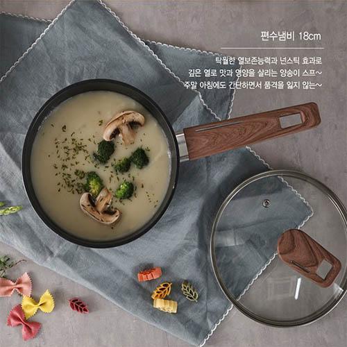 쉬젤 엘레강스 IH 편수냄비_18cm