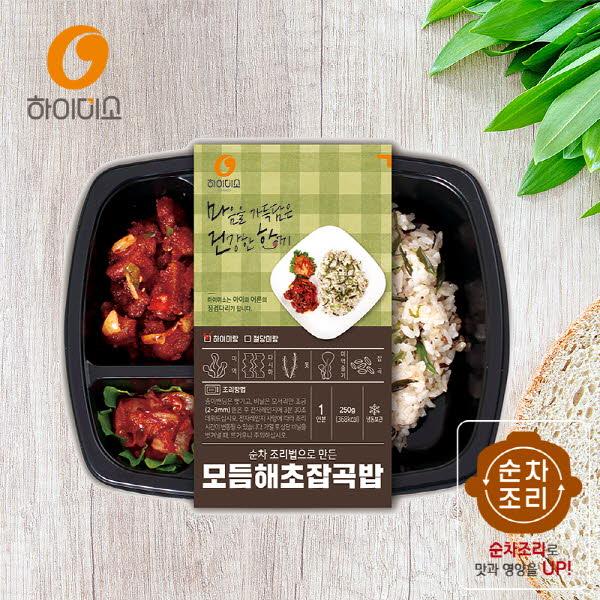 하이미소 도시락 모듬해초잡곡밥-하이미랑 250g 3개