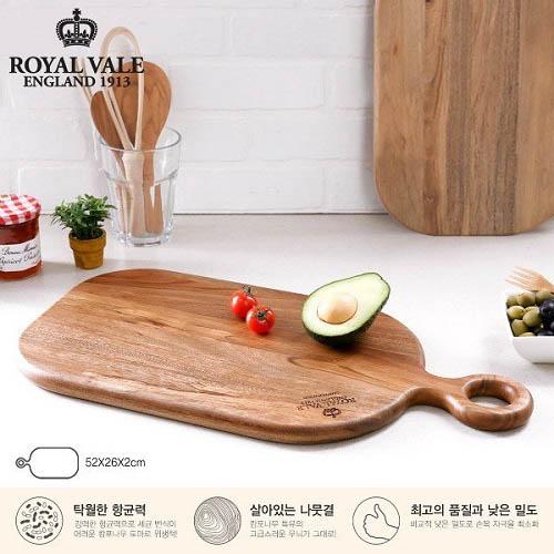 [로얄 베일]프리미엄 캄포 나무 항균 도마+쇼핑백
