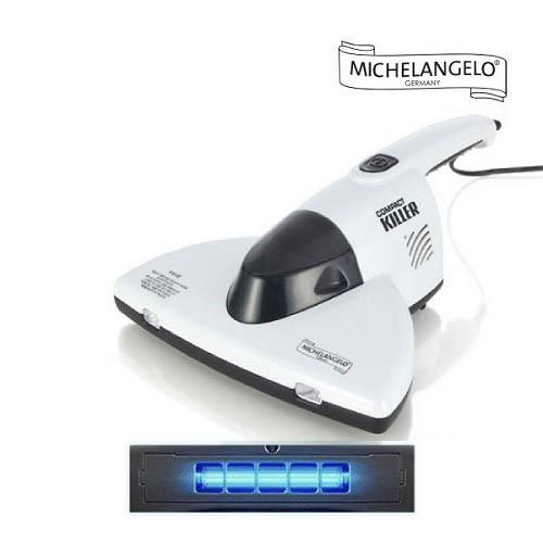 [독일 미켈란젤로] 컴팩트킬러 UV 침구청소기 화이트 ARO-UV400W