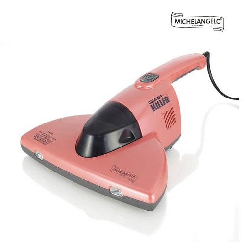 [독일 미켈란젤로]  컴팩트킬러 UV 침구청소기 핑크 ARO-UV400P