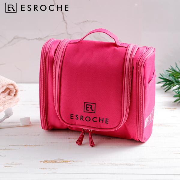 [ESROCHE]에스로체 여행용 핫핑크 파우치 CB-1001