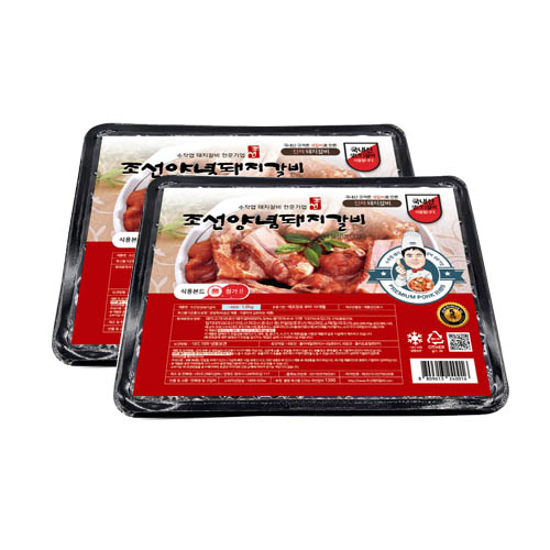 조선양념돼지갈비 1.6kg+ 1.6kg