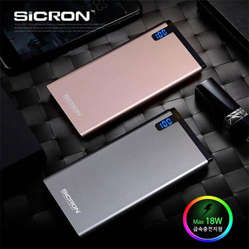 시크론 10000mAh 급속충전 보조배터리 BP-11000Q