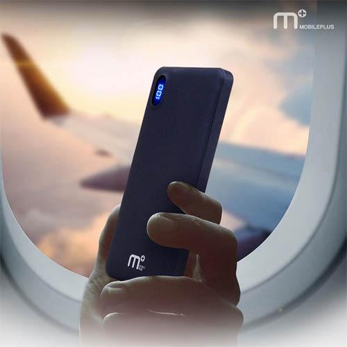 엠플러스 M+ 대용량 급속 충전 보조배터리 (10000mAh) M-35Q