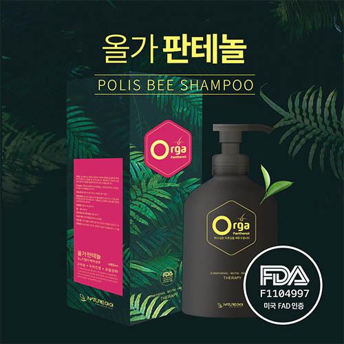 올가판테놀 폴리스비 천연 탈모 완화 샴푸 300ml