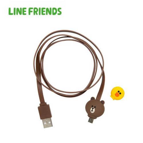 [라인프렌즈] 피규어 케이블 5PIN(Android)