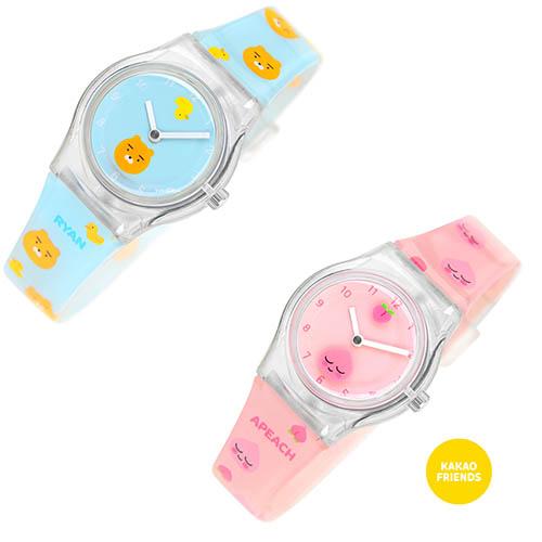 카카오프렌즈 젤리손목시계