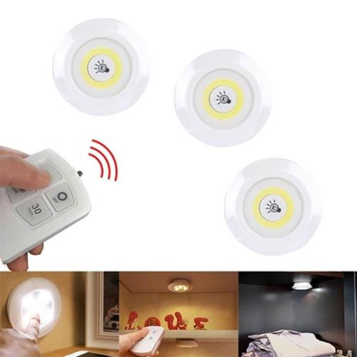 LED 램프 조명등 벽등 옷장등 랜턴 취침등 3IN1 리모컨
