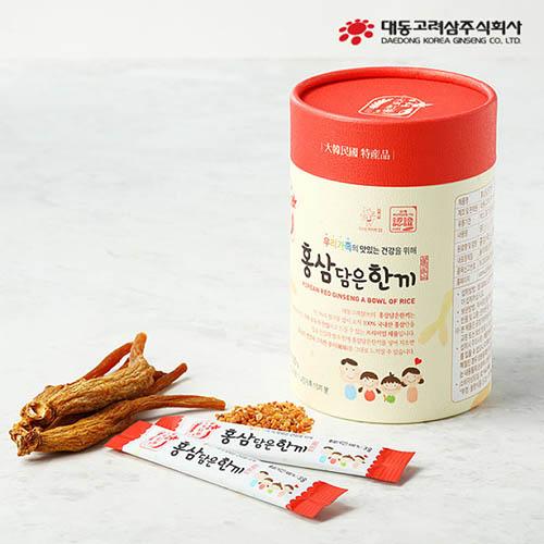 대동고려삼 홍삼담은한끼 3g x 30포