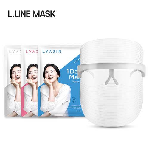 엘라인 LED 마스크(3년 AS보장) + 이영애 리아진 버라이어티 마스크팩 2박스(12매)