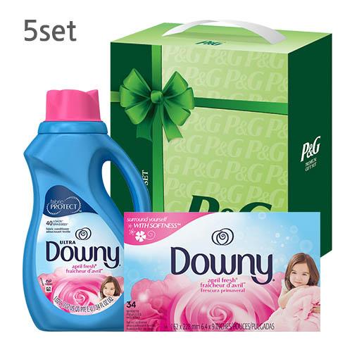 P&G 세탁세제세트 오앤유 5호 5set