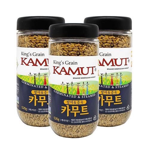 슈퍼푸드 발아증숙카무트520g * 3개