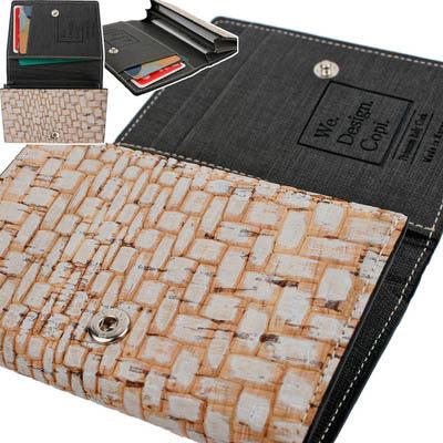 이태리 CORK 명함 카드 지갑 C190722/코르크 참나무의 천연소재