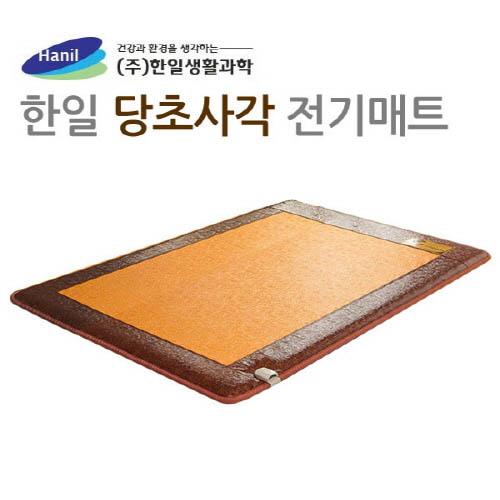 [한일생활과학]2020년형 프리미엄 5T 당초사각 전기매트 더블 2난방(1500*2000mm)
