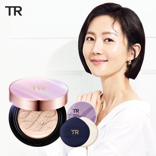 미샤 더블 앰플 쿠션 파운데이션 본품+리필+앰플퍼프