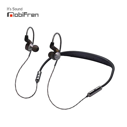 [모비프렌] 세이렌 블루투스 넥밴드형 이어폰 MFB-C7200M(본체,하드케이스,충전케이블,이어버드)