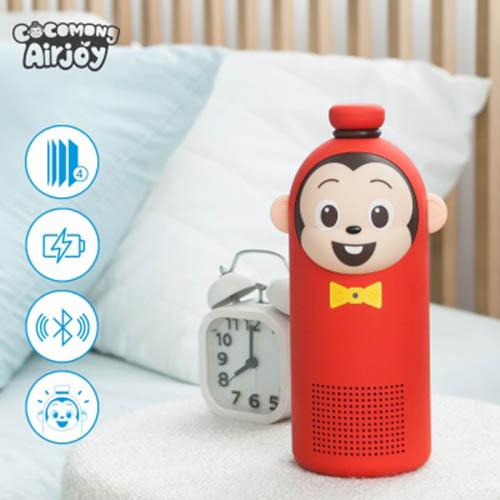 코코몽 에어조이 휴대용 미니공기청정기 AHAJ-1901 (차량용, 유모차 공기청정기, 블루투스스피커)