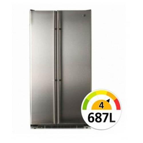 [GE] 냉장고 687L GCE24KBBF 실버빌트인