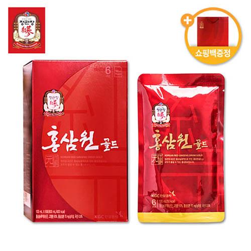 정관장 홍삼원 골드(100ml*8포) + 쇼핑백