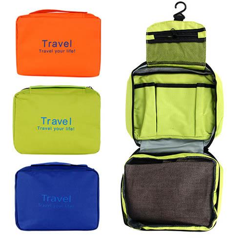 여행용 세면도구 스파 파우치 (BAO-1805-02) 여행용품 워시팩 다용도 파우치
