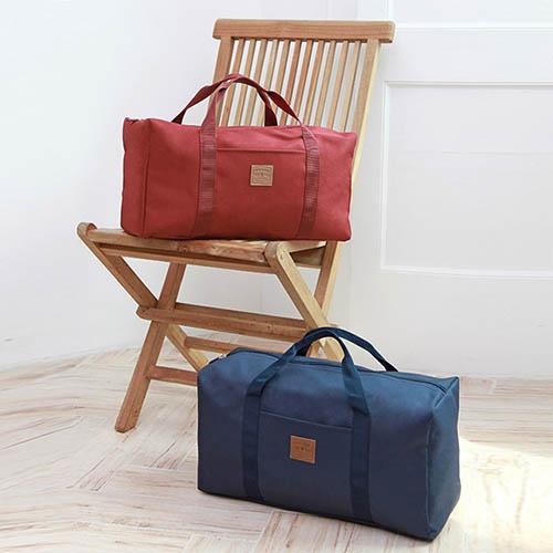 캐리어결합 폴리 보스턴백 (BCO-1901-22-) 더플백 여행용 기내용 폴딩 골프 가방 (색상 랜덤)