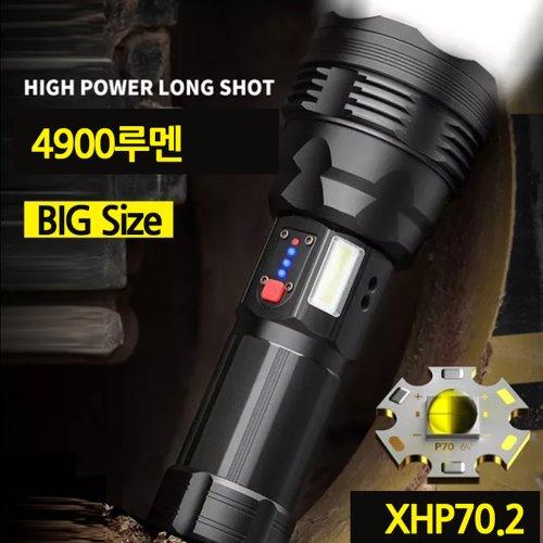 대형 XHP70.2 서치라이트 손전등 후레쉬 CX80 삼각대포함
