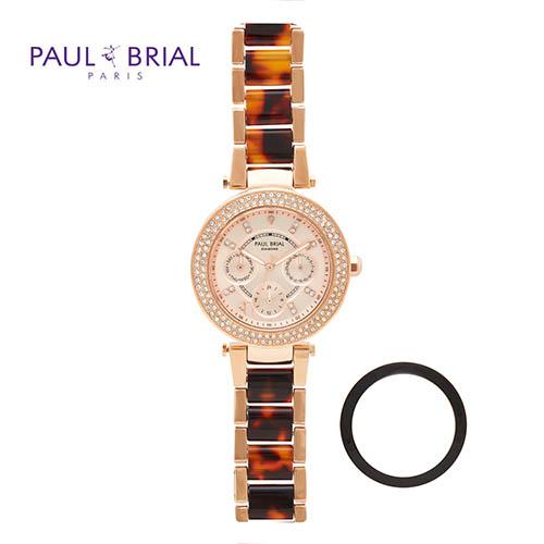 폴브리알 여성 멀티페이스 세라믹시계 PB8018RGB