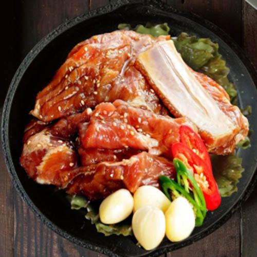 국내산 양념 돼지갈비 900g